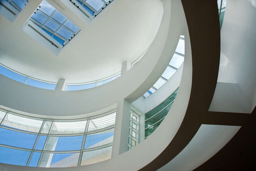 The Getty Center, Los Angeles, California : Architecture : visual meanderings by vt fine art photography