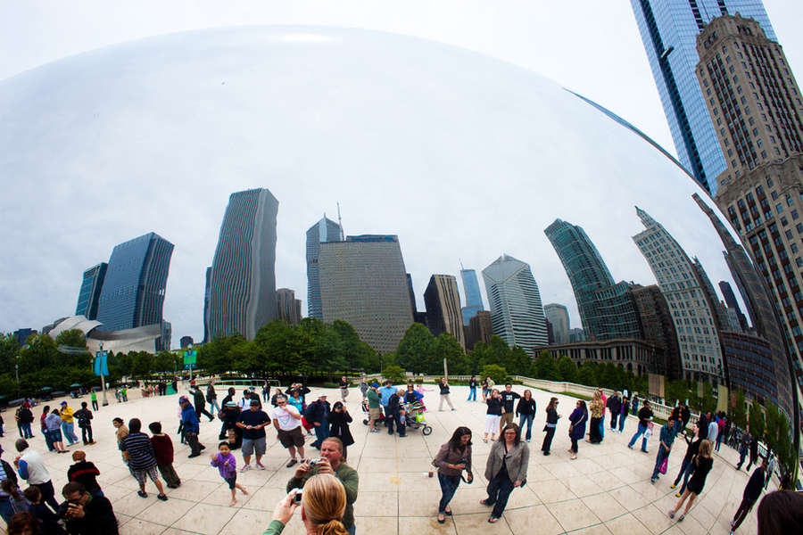 The Bean, Chicago, Illinois : Architecture : visual meanderings by vt fine art photography