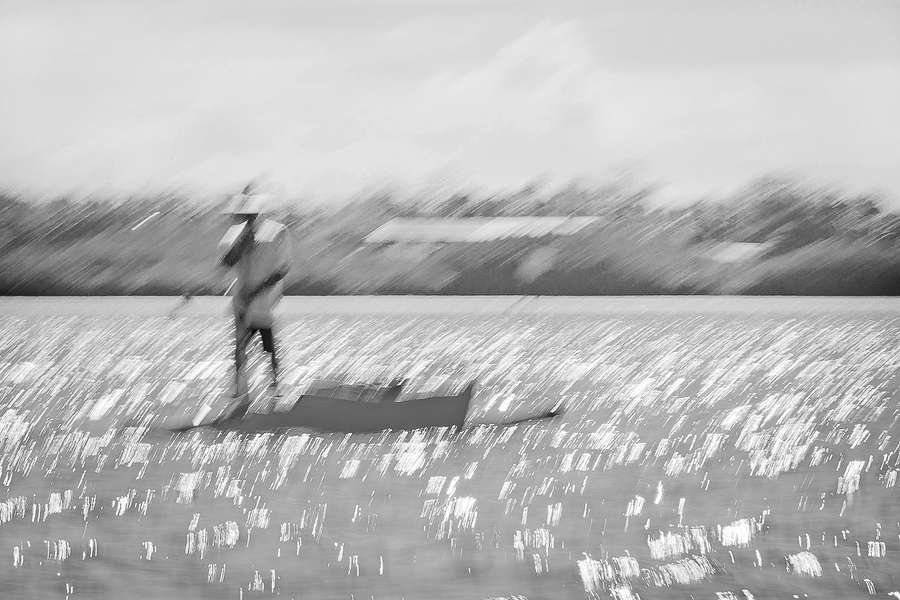 Boatman#5 : Monochromes : visual meanderings by vt fine art photography