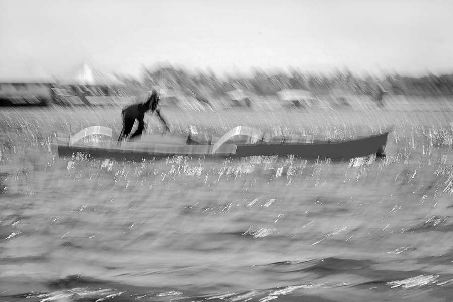 Boatman#3 : Monochromes : visual meanderings by vt fine art photography